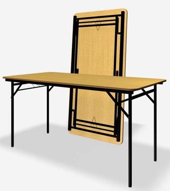 Банкетный складной стол, прямоугольный