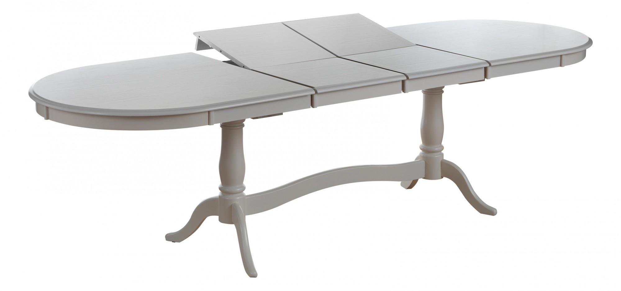 Белый стол раздвижной