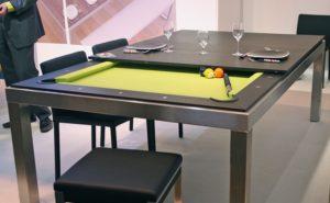 Бильярдный стол в гостиной дизайн