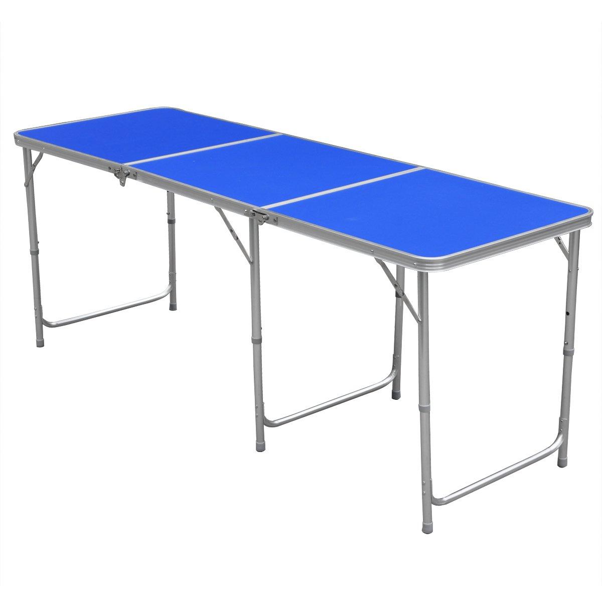 Большой стол из алюминия