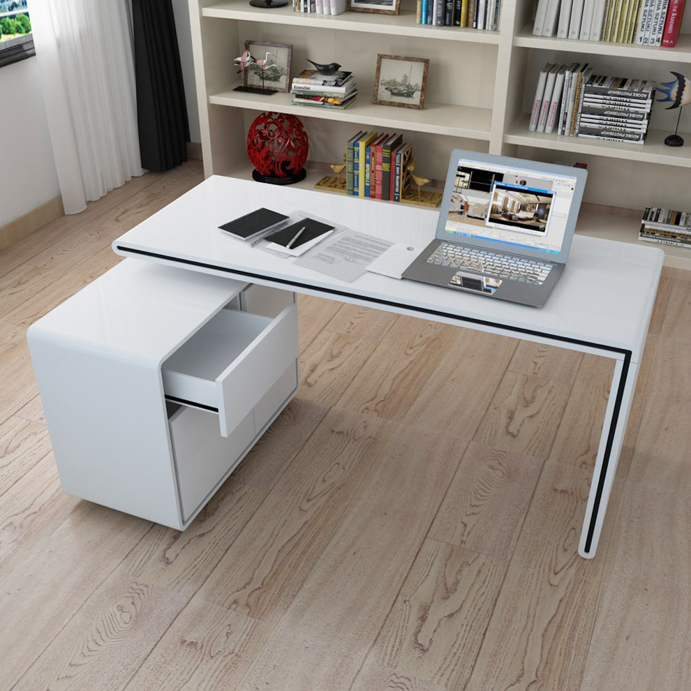 Компьютерный стол белый, основные правила выбора подходящей .