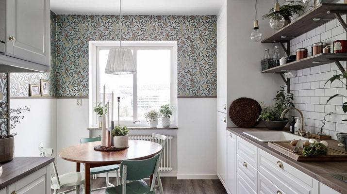 Дизайн стола для маленькой кухни
