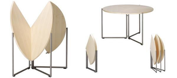Стол круглый раздвижной, характеристики и возможные модели