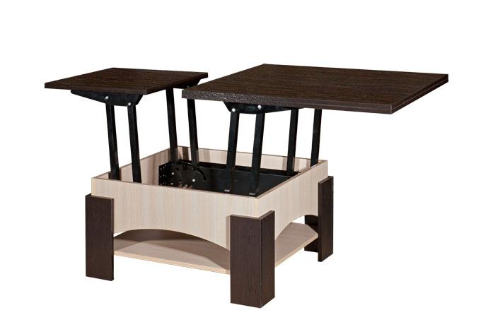 Двухцветный стол трансформер