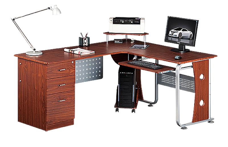 Габаритный компьютерный стол