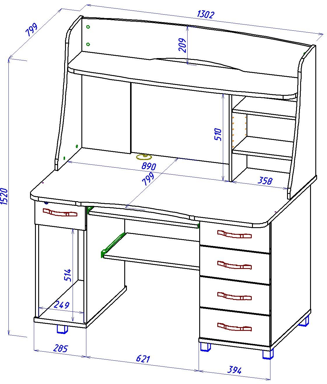 Компьютерные столы 33