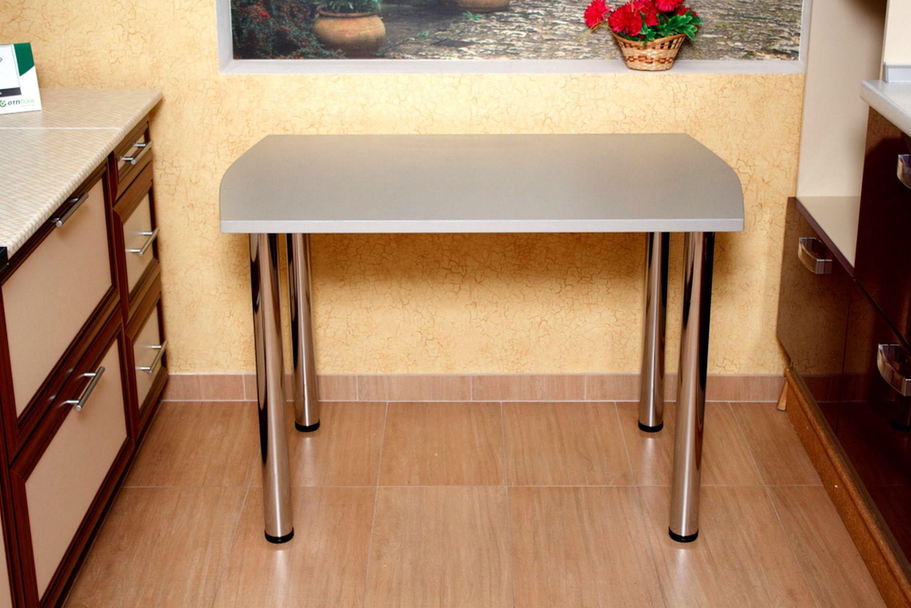Кухонный стол для маленькой кухни, полезные советы по выбору