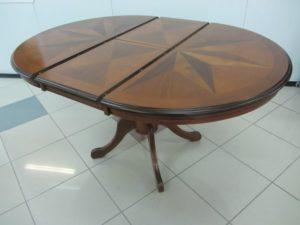 Классический раскладной обеденный стол