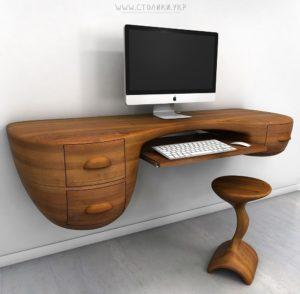 Компьютерный стол дерево