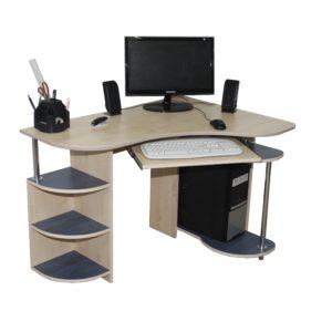 Компьютерный стол для установки в углу