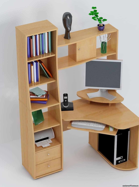 Стол компьютерный малогабаритный, виды моделей и правила выб.