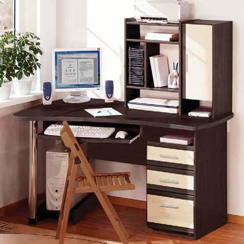 Компьютерный стол угловой МДФ