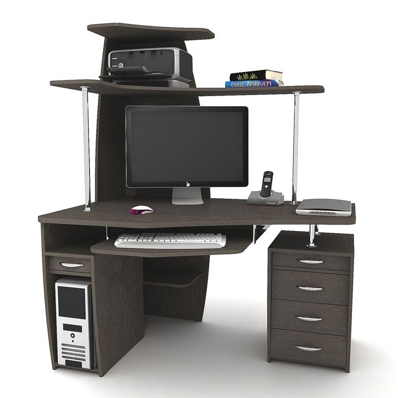 Компьютерный стол в современном стиле