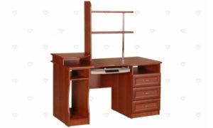 Коричневый письменный стол