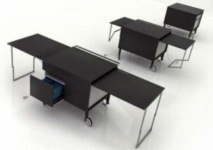 Креативный стол тумба