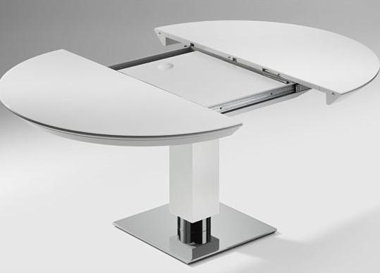 Круглый раздвижной обеденный стол
