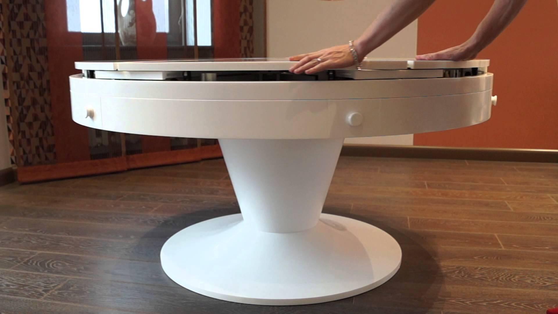 Круглый раздвижной стол