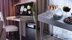 Маленькие письменные столы для маленьких интерьеров