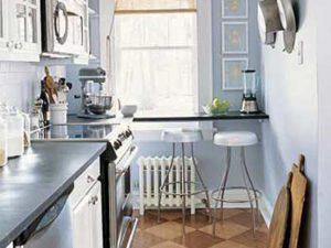 Модный стол подоконник для кухни