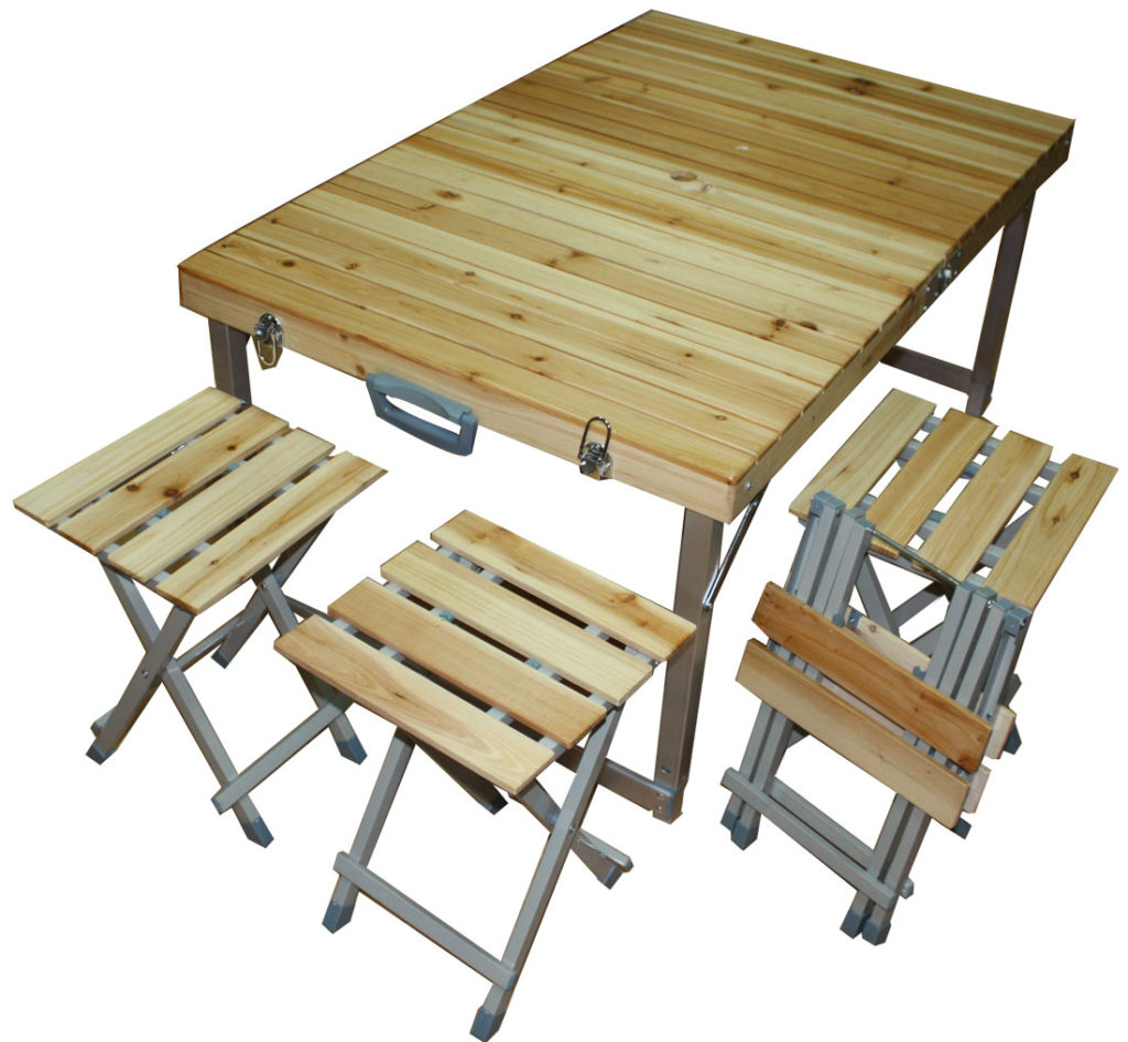 Складные столы и стулья своими руками фото