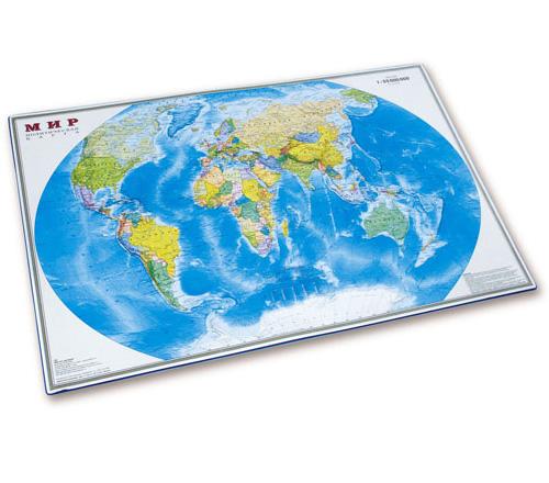Накладка карта мира