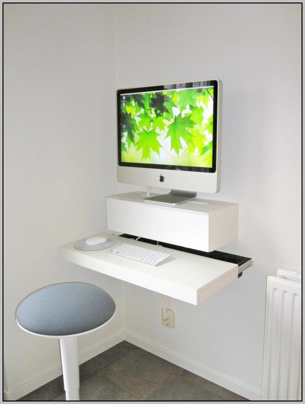 Настенный компьютерный стол