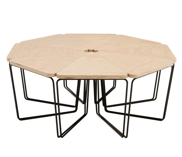 Необычный модульный стол