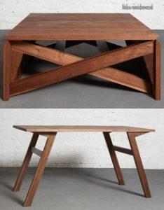 Необычный стол трансформер