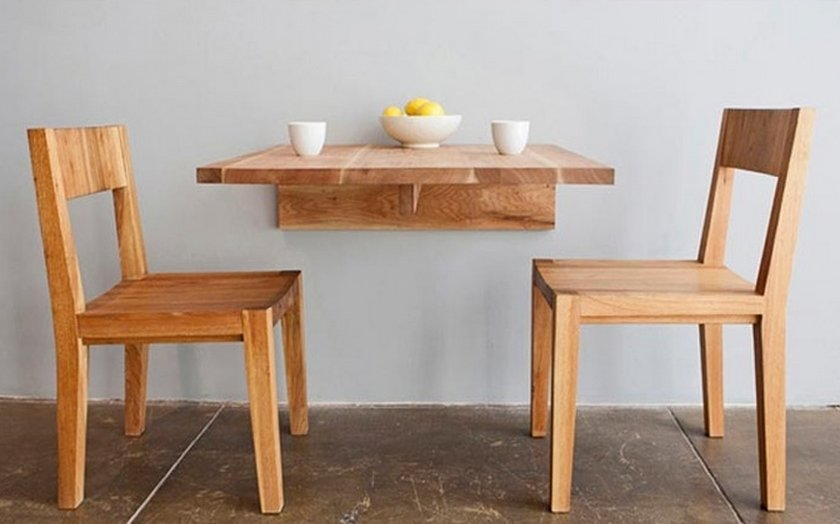 Нестандартный стол на кухню
