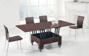 Незаменимым вариантом мебели для гостиной принято считать журнальный столик