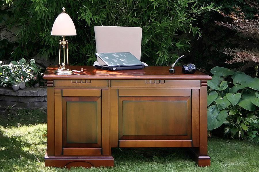 Новый письменный стол из натурального дерева