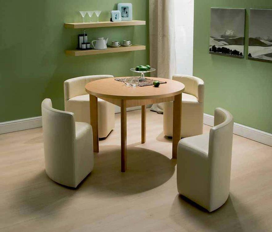 Обеденный стол круглый раздвижной