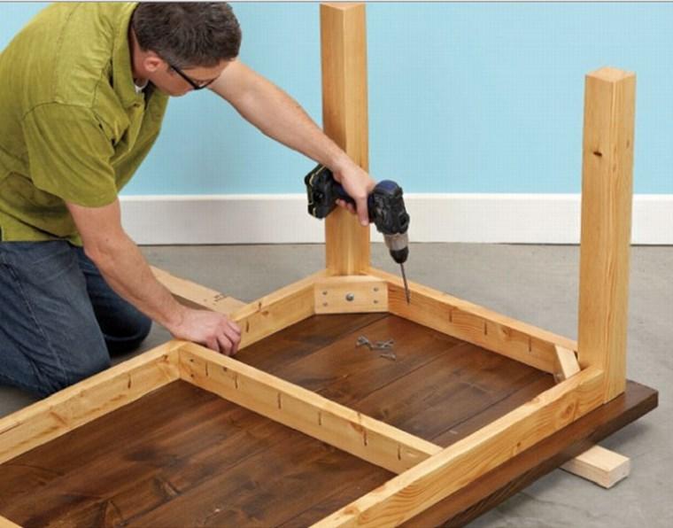 Как сделать овальный стол из дерева своими руками фото