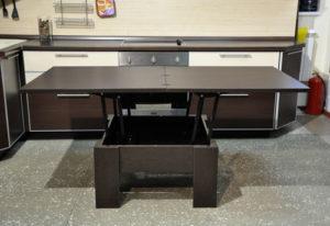 Обеденный стол трансформер