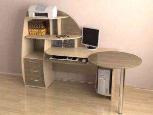 Оригинальная форма стола