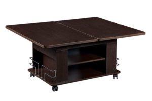 Особенность стола - рычажный механизм подъема