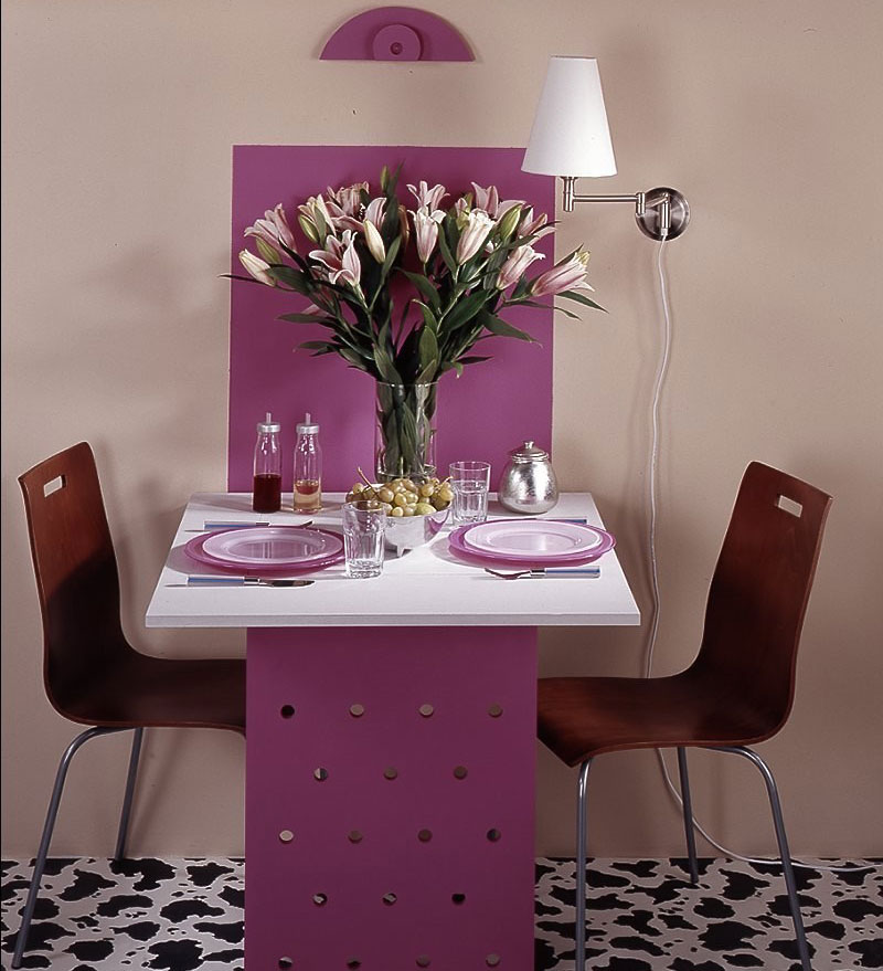 Откидной столик для двоих