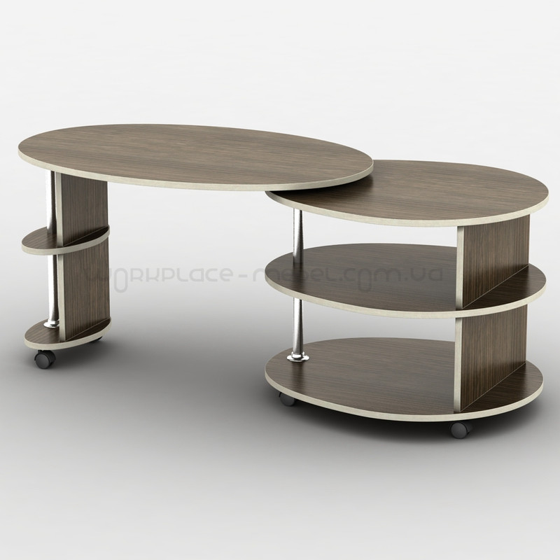 Овальный стол трансформер