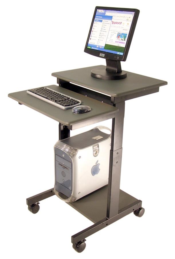 Передвижной компьютерный стол