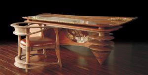 Письменный стол из дубового массива