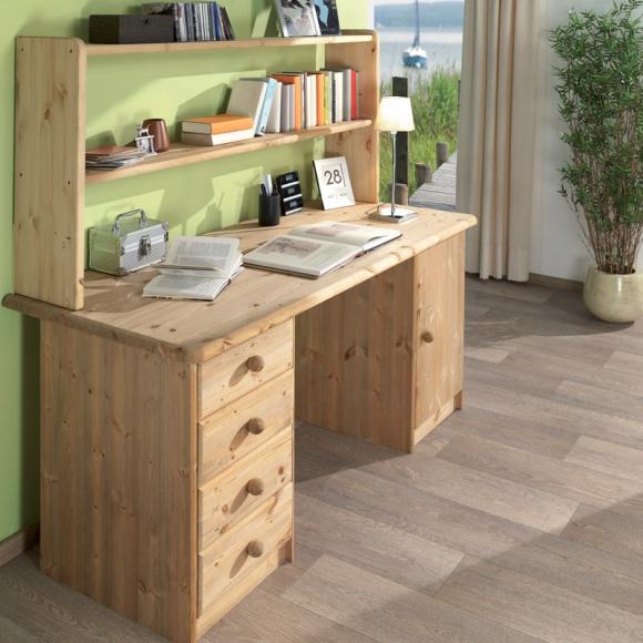 Письменный стол из массива дерева своими руками
