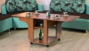 Полноценный обеденный раскладной стол трансформер
