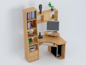 Практичный компьютерный стол
