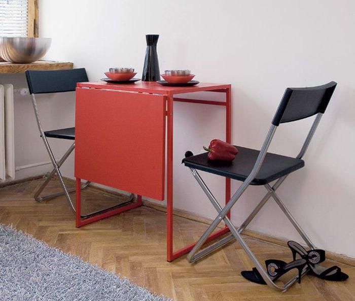 Практичный раскладной стол