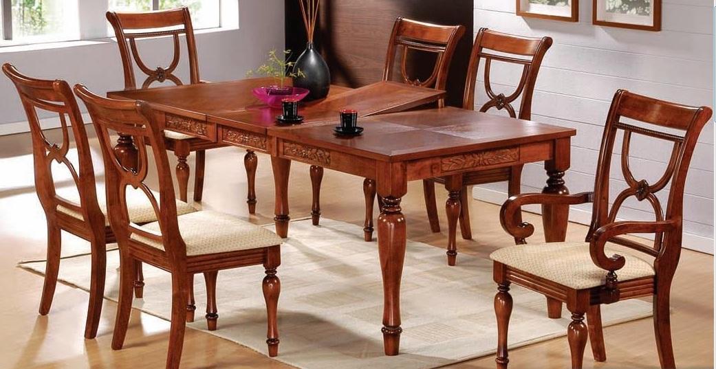 Раскладной деревянный кухонный стол