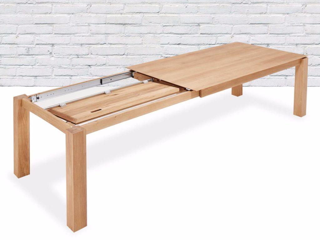 Деревянный раздвижной стол