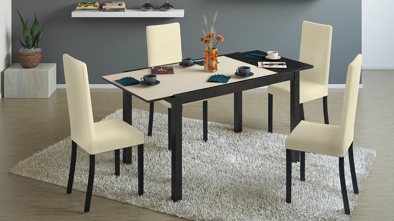 Раздвижной вариант стола