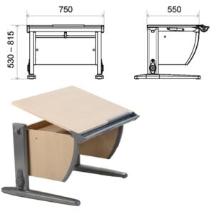 Размеры парты для школьника