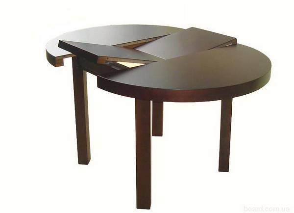 Разновидности раскладных обеденных столов
