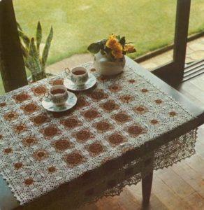 Скатерть для небольшого стола